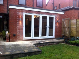 3-Completed Bi-fold doors.
