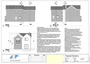 4-elevation of 2 storey extension